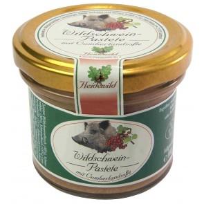 Wilschwein-Pastete mit Cumberlandsoße